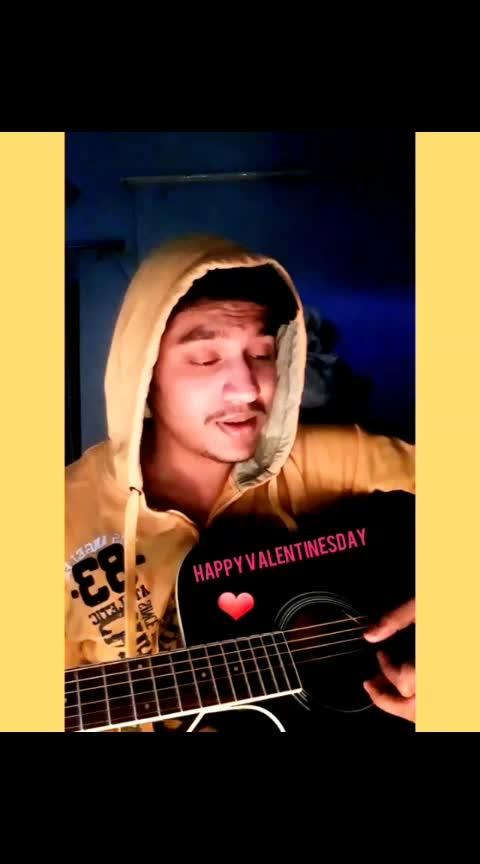 Aemerehumsafar #valentinesday #valentinesday2019  #nextrisingstar #roposorisingstar #roposo_star #roposostarchannel #ropososuperstar #roposo_superstar #talenthunt #roposotalenthunt #viral #share #ropo-share #roposo-beats #beats #love #bollywoodlove #bollywood #punjabiway #gabru #weekendvibes #guitar #singinglove #singingdiaries #sings