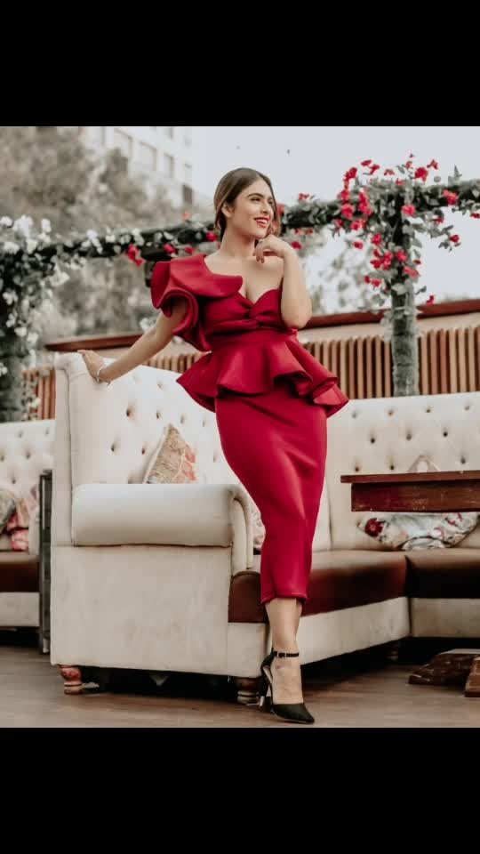 Fall in love with someone who fall in love with your Smile .. because they will possibly do anything to keep you Smiling... ✌️✌️♥️♥️♥️ : Valentine's day special Outfit by  @drobekart  Heels @trufflecollectionindia  Shoot location- @trumpetskylounge  PC @dhavalgajjarphotography  Makeup @makeupbysanjam_  Hair @makeupbysabashaikh : : #fallinlove wd #bewithsomeonewhomakesyouhappy #livelovelaugh #redlove #valentinesday2019 #happyvalentinesday #feelthelove #valentinesdayspecial #sexyoutfit #fashionblogger #boldandbeautiful #trufflecollectionindia #drobekart #redhot #redoutfit #pollywood #instantpollywood #punjabigirl #trumpetskylounge #mumbai #nehamalik #model #actor #blogger #instagram #instagood #instafollow