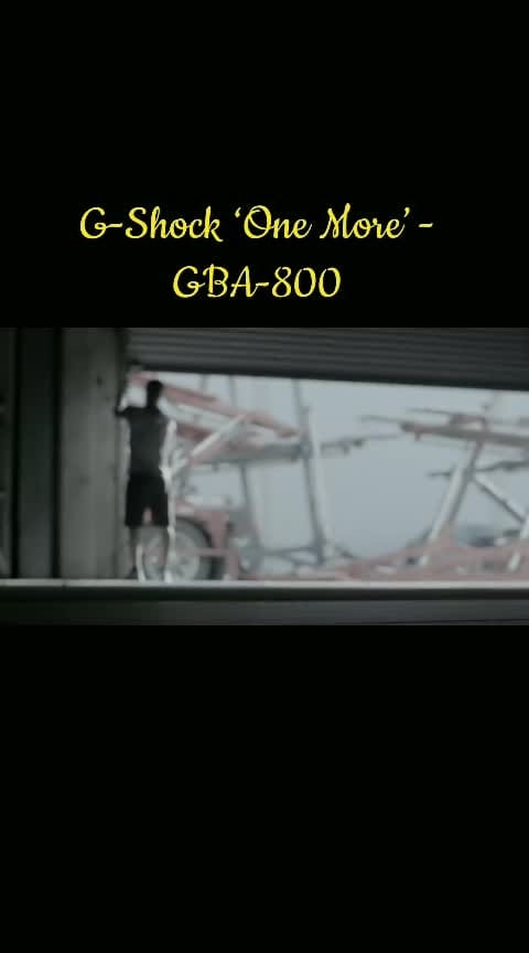 G-Shock 'One More' - GBA-800  #gshock #gshockwatch #gshockwatches #onemore  #GBA-800 #watches