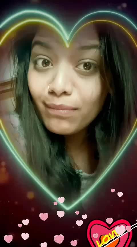 Paniyoo saa....#vday2019 .😻😻😹😹😹😹😹😍😍😍😍😍enjoying the filter................fav song @muzammilali .  #valentinesday #beats #risingstars #roposo-heart #thanks-roposo-for-such-a-colourful-video@roposocontests