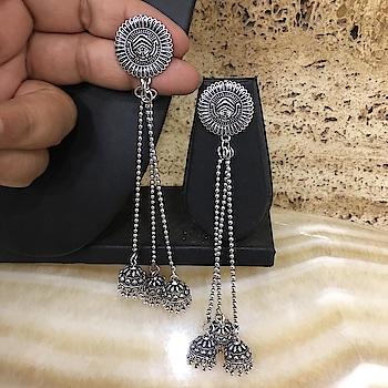 Silver Plated Long Kashmiri Jhumki Earrings Website Link- https://bit.ly/2X2JRN4 . . . . #earrings #earring #enamel #kashmiriJhumki #silverearrings #jewellery #womensjewellery #goldjewellery #diamonds #bridal #traditional #bridaljewelry #elegant #weddingjewelry #weddings #bridalwear #bridaljewelry #bridalgoals #mumbai #india #tradition #indianwear #traditionwear #ethnic #indianwedding #indianjewelry #indianbride #indianwedding #partywear #ethnicjewellery