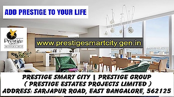 www.prestigesmartcity.gen.in At #PrestigeSmartCity #PrestigeEstatesProjectsLimited #PreLaunch #Apartments #Location #Price #Review #RealEstate #PrestigeProperties #PrestigeProjects #MasterPlan #FloorPlan #2BHK #3BHK #4BHK #Sale  #Budget #Price #Gallery #Video #Brochure #Walkthrough #Contact Us #EnquireNow #Site Visit #Specifications REFER BLOG: https://medium.com/@pb3975588