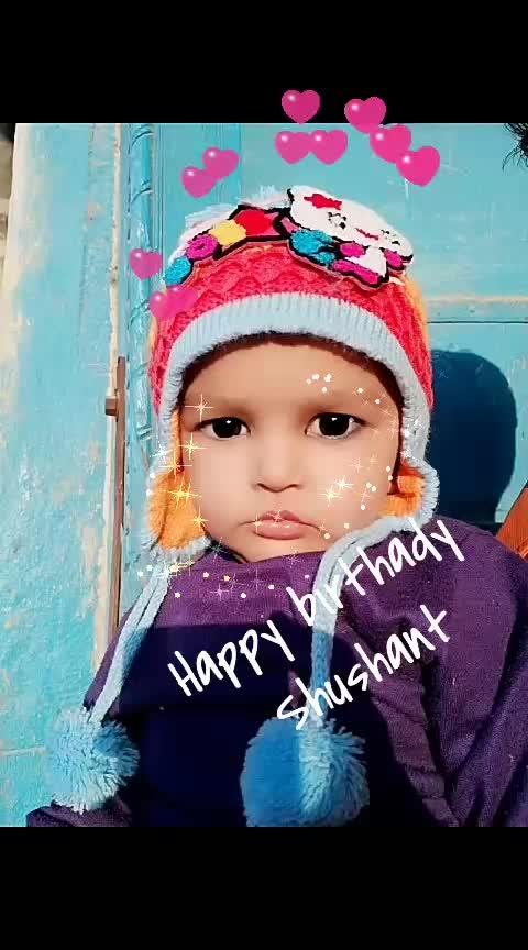 love #happybirthdaytoyou #baby #cuteness-overloaded #birthday