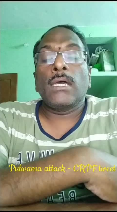 #bjp #bjpsarkar #nda #pm-modiji #modiji #narendramodi #central #government #pulwama #crpfattack #crpf #tweet #noexcuses #nomercy  #aptsbreakingnews #roposonews #roposostars #current #affairs #martyrs