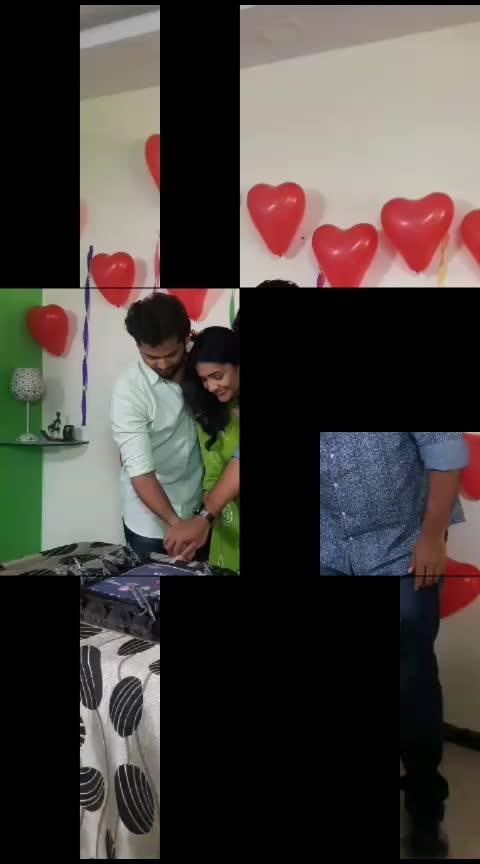 Celebration on the set of #phulpakhru #phulpakharu serial #hrutadurgale #marathiactress #marathiserials