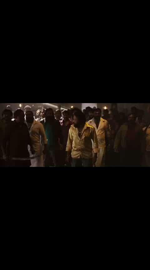 kgf movie best unwatched scene ..