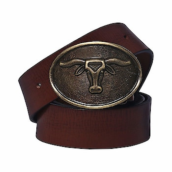 FLINT Luxury Vintage Leather Bull Casual Belt for Men  MATERIAL:- 100% Genuine Soft Leather belts for the alpha male. Made of the highest quality leather with a distinctive buckle. MAXIMUM DURABILITY :- Genuine leather quality Bull belt, complemented with an HIGHLY FASHIONABLE stylish, buckle that is elegantly designed with class. Scratch resistant buckles made to last EASY USE:- The buckle has a round pin at the starting edge which is pushed into the hole and to release, is simply pulled out.  https://amzn.to/2EeWkWx
