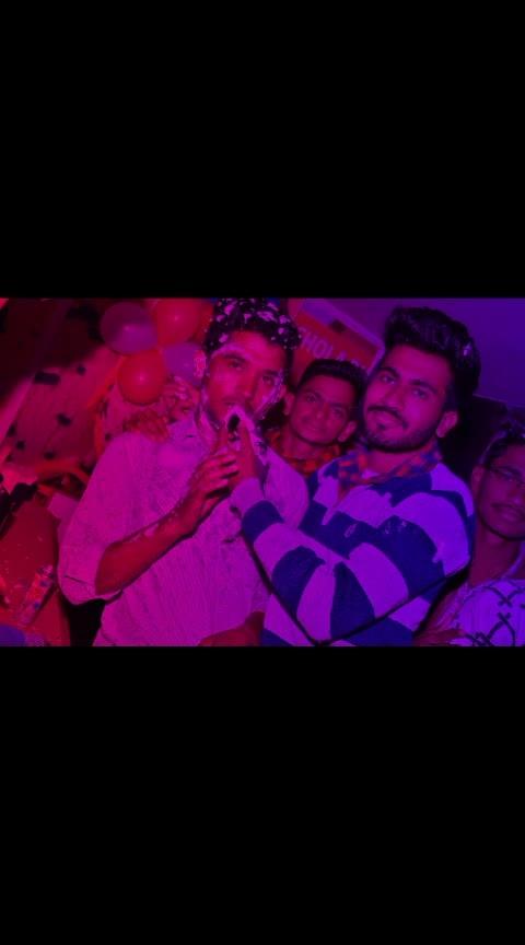 Birthday party celebrating with friends {Manoj & Ramkesh}