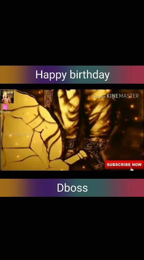 happy birthday d boss
