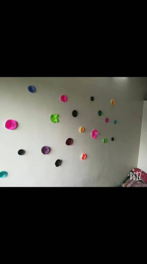 #walldecoration #walldecor #decor #decorations #flowers #origami #origamiart