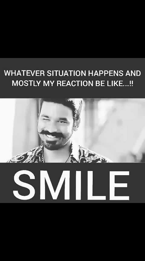 #dhanush #dhanushfan #smile #smileeveryday #love-status-roposo-beats #status