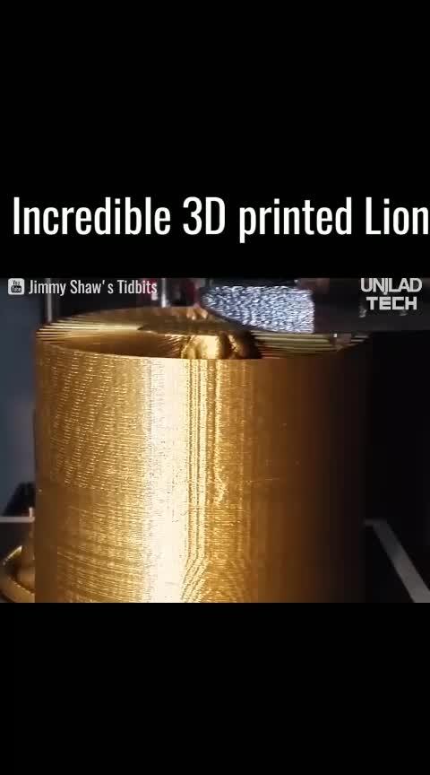 Incredible 3D Printed Lion