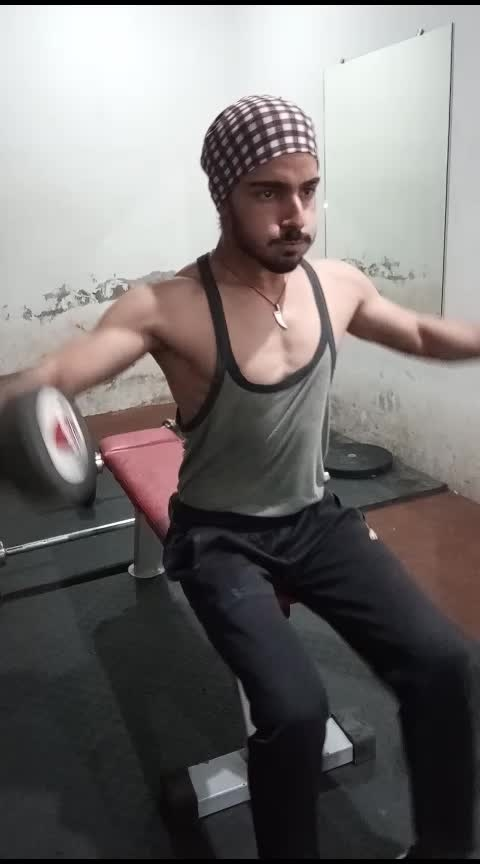 #trendeing  #roposo  #punjabiway  #fun  #motivation  #gym  #gymlife  #workout  #hardworks  #exercise  #tiktokindia  #gabru  #punjabifashion  #haryana  #songs  #sidhumoosewala  #parmishverma