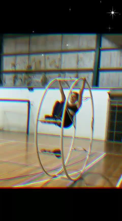 #gymnastic ..... #flexible .....  Keep Smiling... :)