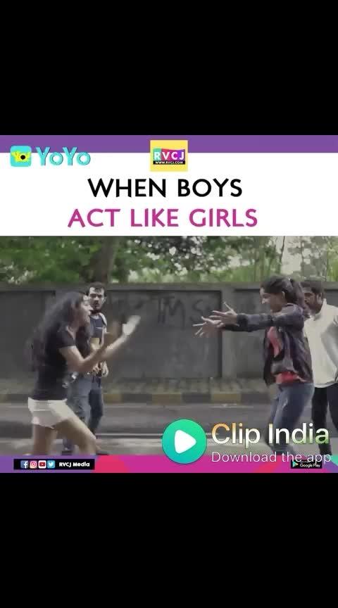 #haha-tv #roposo-haha #girlsvsboys #roposo-telugu #trendeing #shortfilm