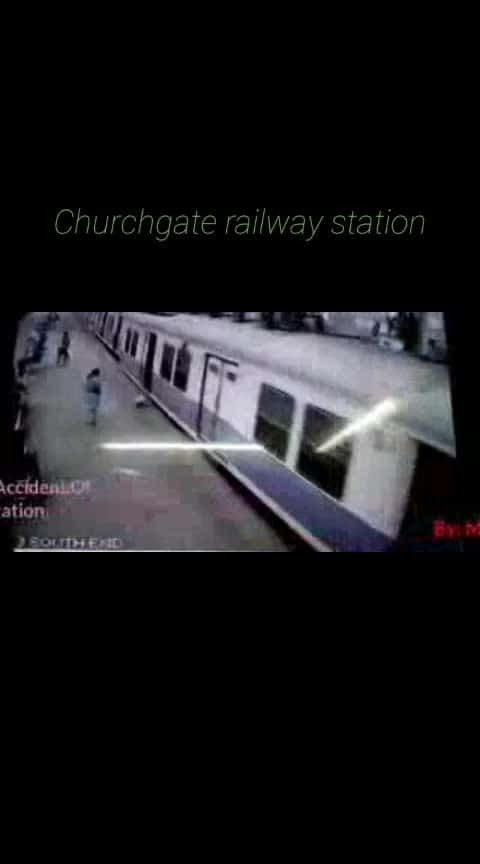 Churchgate railway station's rail accident. I don't need likes, please share this video, comment and follow me. #churchgate_rail_accident / #churchgate / #rail / #railway / #railways / #railwaystation / #station / #accident / #churchgate_railway / #rail_accident