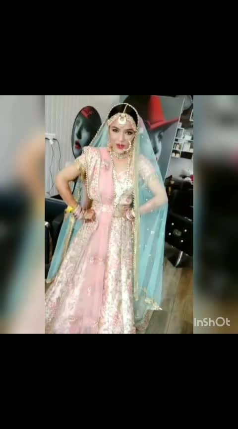 When I became bride😆 #bridesofindia #bridallehenga #bridaljewellery #tiktok #tiktokindia #pinklehenga #daywedding #happybride #wedding #marraige #thebride #dancingbride  #swag #styles #fashion #traditional #olensindia