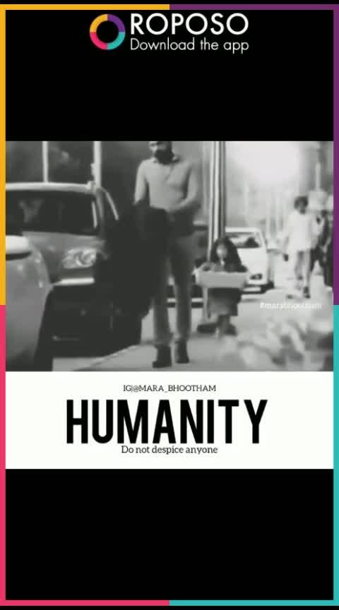 humanity makes man perfect
