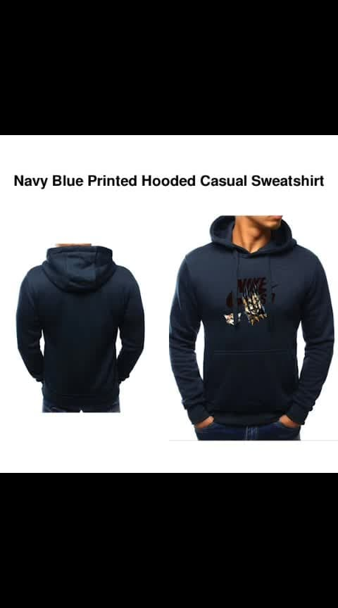 #wooplr #wooplrinfluencer #wooplrxyou #wooplristas   *[✈️ INTERNATIONAL ]* 👉 *Name*: Navy Blue Printed Hooded Casual Sweatshirt 🔥 *Brand*: Frosties ✏️ *Description*: IMPORTANT: Please check the size chart image before placing the order. 😌 ✅ *Available Sizes*: S,M ☺️ 🚚 *Delivery Time*: Delivers within 2-3 weeks  *%s - 100%% Return & Refund Policy *No COD charges