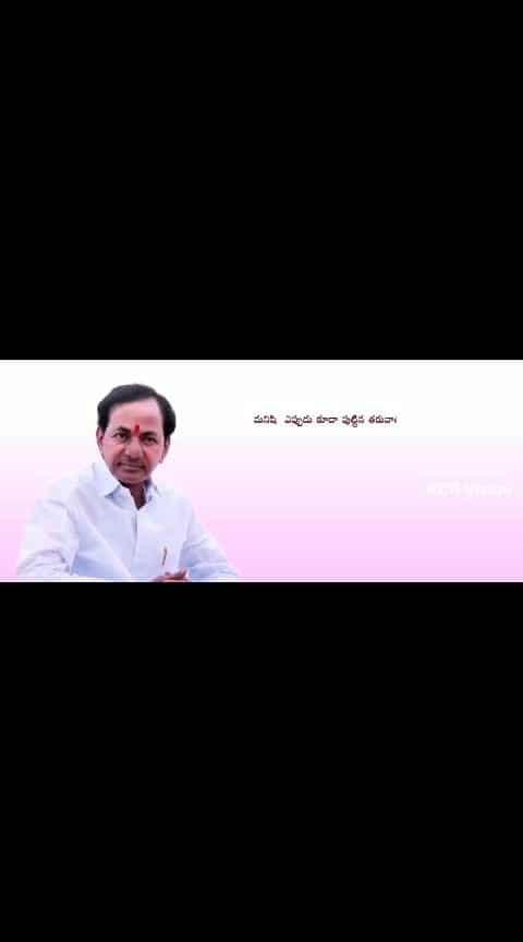 #kcr_anna #kcr-chethamatalu #kcr #kcr_ane_nenu #inspiration #telangana_dubsmash #telanganaelections2018 #cmkcr #cmyogi #roposo-telugu #telanganapolitics #ktraboutpawankalyangaru #kalvakuntlakavitha #kalvakuntkakavitha #kalvakuntlatarakaramarao #harishrao #best-qoutes #best-song #telugubeats #inspriational