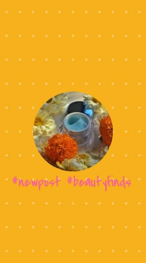 #Beautyfinds 🌷 #WonderfulWednesday 🌷 Doesn't a new product spark joy🙋 in your soul?  Uses✔ It has multiple uses like ✔Use it as an under eye cream.  ✔Use it as an overnight mask (this is a dupe of the Laneige water sleeping mask) ✔Use it as a makeup primer ✔Use it to nourish cuticles  To know more visit my instagram post now 💁💁💁💁  Stay tuned for more beauty finds coming your way.  What is your favorite skincare product currently ?  . . . . . . #moisturiser #skincare  #hydratingcream #moisturizer #skincareroutine #mumbaiblogger #makeup #sensitiveskin #beautyblogger #beauty #skin #skincareblogger #makeupblogger #discount #bodycare #watercream #likeforlike #followforfollow #gelcream #Indianbeautyblogger #indianmakeupblogger #cosmetics #lakme #mattereinvent #absolutematte #vegan #dryskin #moisturising