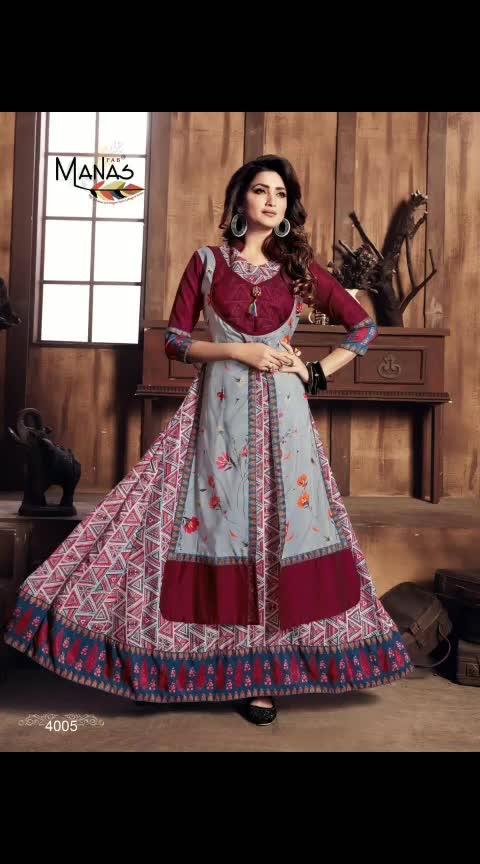 #Only_full_catalogue  *FOR BOOKINGS CLICK ON THIS LINK  https://wa.me/919898358024  NAME :Manas Valentina TOTAL DESIGN :8 WEIGHT :5 SIZE :M   L   XL   XXL Type :Designer Kurtis  8 Pcs. FABRIC :Masalin digital print with fancy fabrics Minimum order full set 8 pcs ( NO SINGLE )  #lehnga#sarees#gowns#designers#designerlehngas#bridallehngas#designersarees#bridalsarees#designersareeskolkata#designersareesdelhi #weddingstyle#manishmalholtra#shyamalbhumika#instalike#lakme#lakmefashionweek#handembroidery#designersareesusa#pearldesigners#pearllehnga#newcollection#Bollywood#Bollywoodstyle#celebstyle#indianfashion