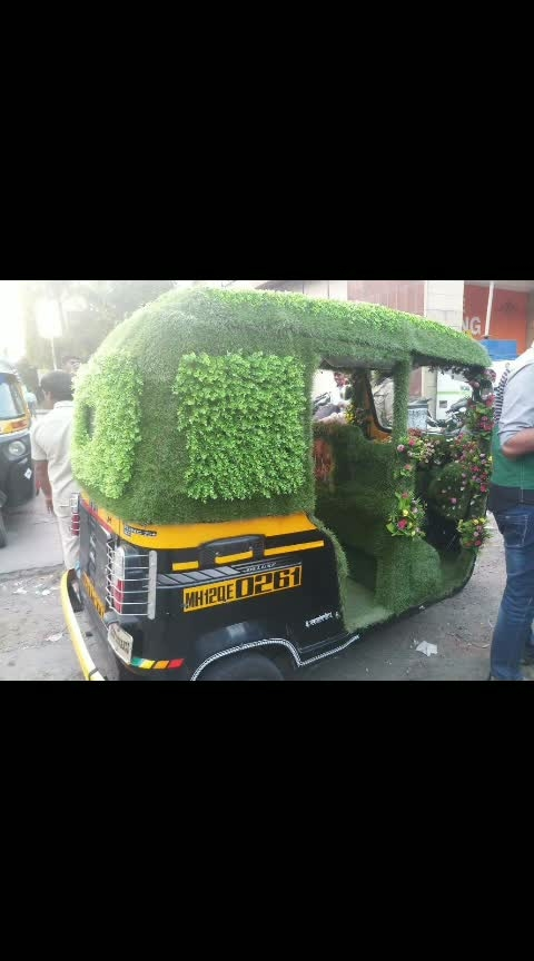 OMG!!! RICksHaw Decorations!!!?? WORTH RS /- 3799 INR .... WATCH HERE #indian