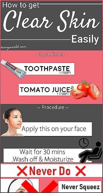 How to get clear skin easily and most quickly. . . #kacy #kacyworld #kacyskincare #clearskin #skincare #skincareroutine
