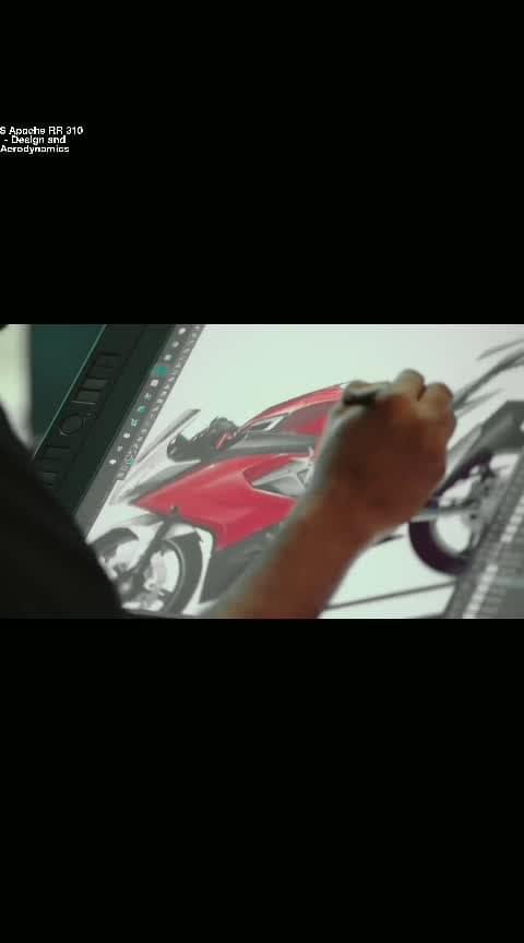 #tvsapacherr310 #Desin #Aerodynamics