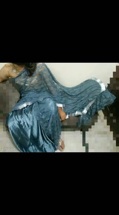 Mahesha Fashion  Fabric: Saree - Net / Satin & Net  Size: Saree Length - 5.5 Mtr  Description: It Has 1 Piece Of Saree   Pattern / Work:  Lace Border / Sold @1099 Cod available shipping free What's up  9⃣1⃣7⃣3⃣0⃣3⃣8⃣1⃣2⃣9⃣