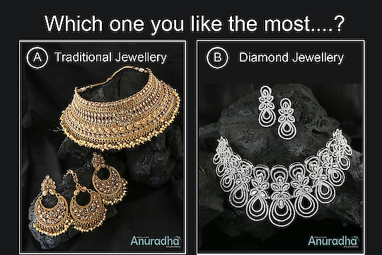 Which necklace you like the most? Comment below A or B . . . . . . . . . #ethnicjewellery  #templejewellery #traditionalnecklace  #finejewelry  #highqualityjewelry  #designerjewelry  #uniquejewelry  #traditional  #womensfashion  #fashionjewellery  #partyjewellery  #weddingjewelleryset  #weddingjewellery  #exclusivejewelry #trendyjewellery #indianjewellery  #womenswear #traditionaltobefollow  #instajewellery #elegance#classy #maharashtra #nashik #mumbai #dhule  #culcatta  #benglore  #pune  #hydrabad