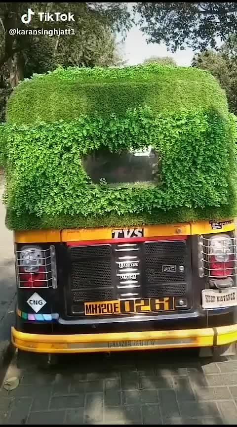 eco friendly autoriksha.... #news #amezing #bollywood #beets #new