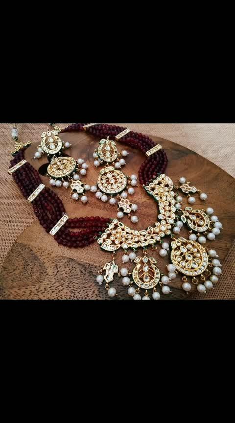 dm to order  #flauntnow #templejewellery #imitationjewellery #highquality
