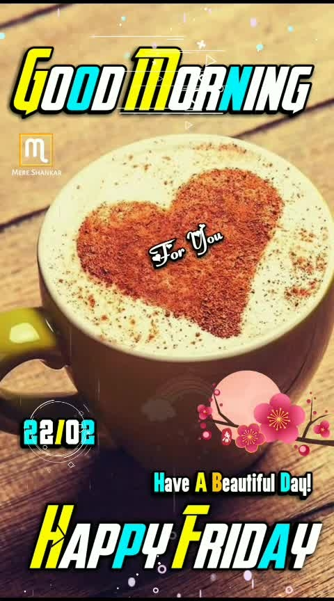 GOOD MORNING 💐