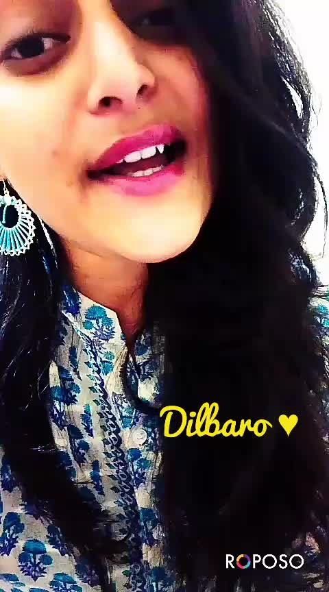 dilbaro ❤#raazimoovie  #featurethisvideo #onrequestpostcompleted #verifiedprofile #girl girl♥ #likemyrecent #likecommentshare #followmeonroposo #likeforme #roposoness #ropo-star #ropo-daily #dailyupdates #aliabhatt #ropo-rockzz #thankyouroposo #followers #parentslove #daughter-dad #best-song
