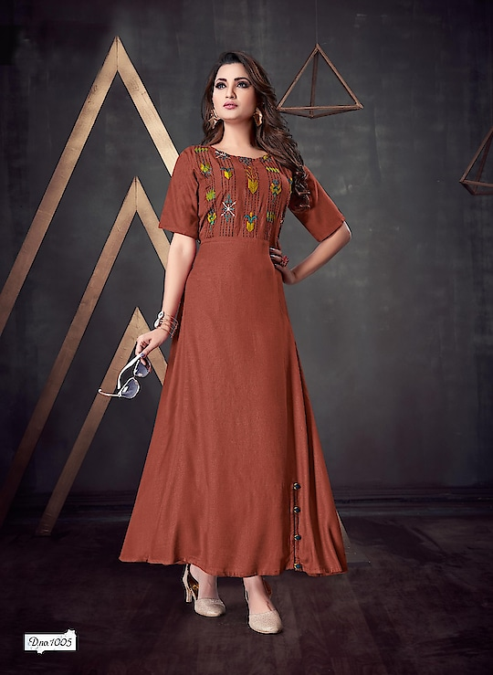 Simple And Elegant Rayon Dresses Is Here For Party Wear Look 💕 Price:- 1500/- To Order WhatsApp us (+91) 8097909000 * * * * #kurtis #gown #partywear #kurti #onlineshop #onlinekurtis #kurtisonline #dress #indowestern #ethnicwear #fashion #salwarkameez #longkurtis #ethnic #womenwear #style #stylish #love #socialenvy #beauty #beautiful #pretty #swag