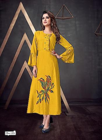 Simple And Elegant Rayon Dresses Is Here For Party Wear Look 💕 Price:- 1500/- To Order WhatsApp us (+91) 8097909000 * * * * #kurtis #gown #partywear #kurti #onlineshop #onlinekurtis #kurtisonline #dress #indowestern #ethnicwear #fashion #salwarkameez #longkurtis #ethnic #womenwear #style #stylish #love #socialenvy #beauty #beautiful #pretty #swag