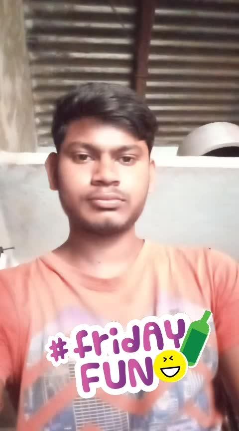 Friday My fun video 😂🤣😅 ###radhu