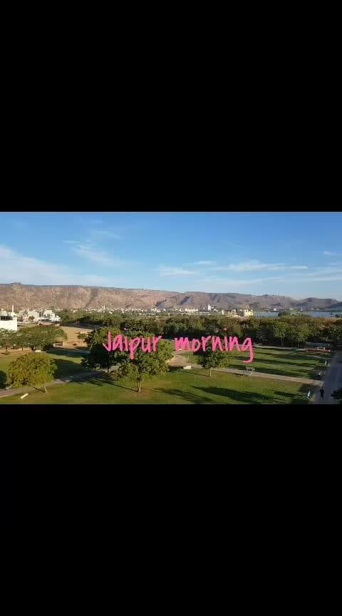 #jaipur #morning  #fort  #jalmahal #aravali  #roposo-morning  #good----morning #jaipurdiaries
