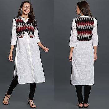Entrancing White Colored Casual Wear Cotton Kurti 😍 Price:- 1150/- To Order WhatsApp us (+91) 8097909000 * * * * #kurtis #gown #partywear #jacketkurtis #chickenkurtis #kurti #onlineshop #onlinekurtis #kurtisonline #dress #indowestern #ethnicwear #fashion #salwarkameez #longkurtis #ethnic #womenwear #style #stylish #love #socialenvy #beauty #beautiful #pretty #swag