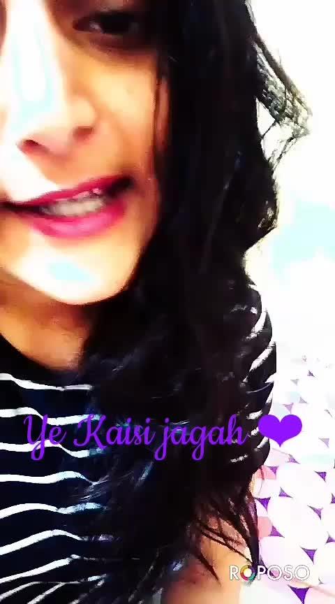 ye Kaisi jagah ❤#hamariadhurikahani  #featurethisvideo #verifiedprofile #onrequestpostcompleted #likecommentshare #followmeonroposo #ropo-video #ropos-love #roposo-famous #love-song #ropo-daily #dailyupdates #thankyouroposo #staytunedformoreupdates