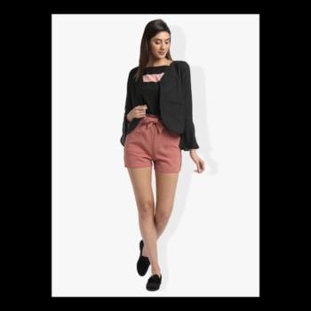 Dress like you've made something of yourself in the world,even if you haven't!!!🔥 #formalsbellsleevesjacket #summerbowpinkshorts . . . . #trendarrest #trendy #trending #trendfollowers #fashion #fashionista #fashionworld #formals #bellsleeves #summerbow #shorts #black #pink #hotpant #jacket #casual #fashionmodel #westernwear #followforfollow #likeforlikes #instalikes #instafollow #clothingbrand #saturdayvibes #saturdaylife #postoftheday