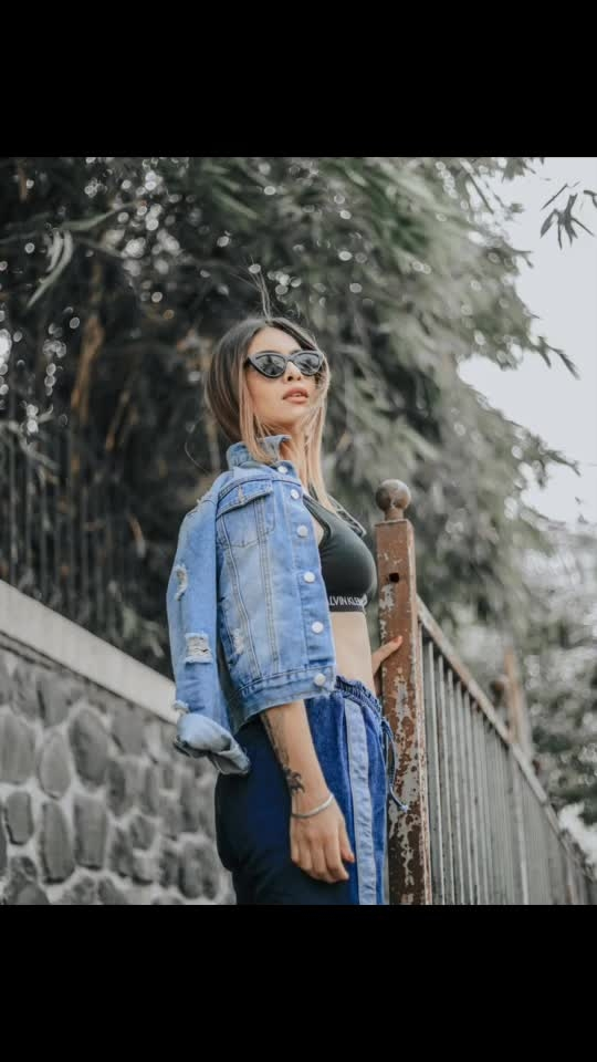 Have the courage to be exactly who you are without Apology...!!😈😈 : This Denim jacket from @sheinofficial  To buy this one use my code NEHAQ1 to get ₹200 off ,orders over ₹2000 😍 Denim jacket search link -  http://bit.ly/2AY8noX%C2%A0 Search id - 619701 Grab this one now #happyshopping 😍 : #bewhoyouare #beyourself #loveyourself #bethebestyou #denimjacket  #shoot #shootdiaries #stylish #fashionista #bootyfordays #bootypics #fashionblogger #calvinklein #styleblogger #sheinofficial #shein #bossbabe #boldandbeautiful  #nehamalik #model #actor #blogger #instafashion #instafollow : : Mua @makeupbysanjam_  Hair @makeupbysabashaikh  PC @dhavalgajjarphotography