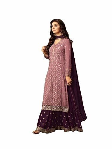 Generic Women Georgette Fabric #Sharara #Suit @ Rs.1599. Buy Now at http://bit.ly/2ViYABV