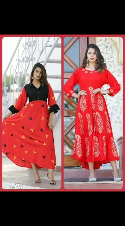 Eva Latest Printed Kurtis Combo Vol 1  Fabric: Rayon Sleeves: Sleeves Are Included Size: Kurti - L - 40 in, XL - 42 in, XXL - 44 in Length: Kurti - Up To 50 in Type: Stitched Description: It Has 2 Pieces Of Kurtis Work: Printed Dispatch: 2 - 3 Days