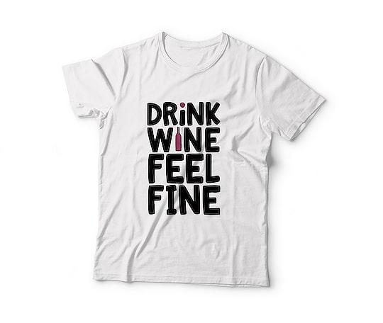 "🎉 New Arrival 🎉  "" Drink Wine🍷Feel Fine "" Unisex Printed T-Shirt @ Just Rs. 499/- 😍  _______________________________ . 🔸 Free shipping 🔹 Cod available 🔸 . #tshirts #tshirt #fashion #clothing #love #art #style #streetwear #apparel #tshirtdesign #design #clothes #tees #menswear #men #mensfashion #unisextshirt #onlineshopping #screenprinting #photooftheday #offerskraft #wine #drinkwinefeelfine"