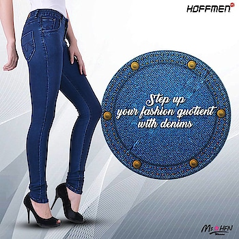 Be on the top of the fashion game with #Hoffmen denims. Keep shopping with #Hoffmen! https://bit.ly/1SaI4Q0 #womensfashion #Stylishwomen #jeans
