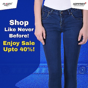 Save up to 40% on your favourite products at Hoffmen. Check https://www.hoffmenonline.com/ to avail the discount. Happy #DiscountShopping #Hoffmen #HappyShopping #jeans
