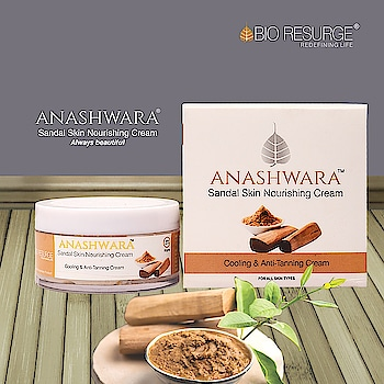 Let your skin do the speaking. Look forever young with our Anashwara Sandal Skin Nourishing Cream, which offers an anti-tanning cooling sensation and tightens skin by giving it a young and fresh look. Its powerful anti-bacterial properties help in preventing pimples & acne and also cures prickly heat. Order Now:  www.bioresurge.in | Amazon, Snapdeal, Flipkart, 1mg, NYKKA, Guardian pharmacy, Paytm Mall. Flipkart, 1mg, NYKKA, Guardian pharmacy. #skinglow #skincaretips #skinlove #skincareblog