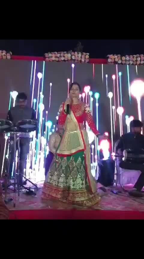 Rajasthani wedding !!  Happiness is not something ready made. It comes from your own actions... #gujarattoglobe #girly #gujjugirl #charbangdi #charbangkok #panipuri #prasad #weddingseason #weddingmakeup #wedding #weddingdress #chanyacholi #reddress #dance #garbadance #indianwear #sugarzzz #supmumbai #gujjugirl #rajasthan #rajasthani_style